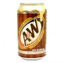 A&W Root Beer Can 355ml